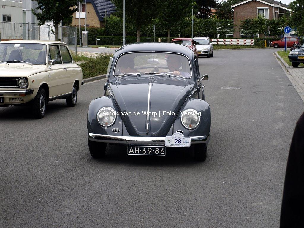 Oldtimer Toerrit Stam Caravans Elburg 22-06-2008