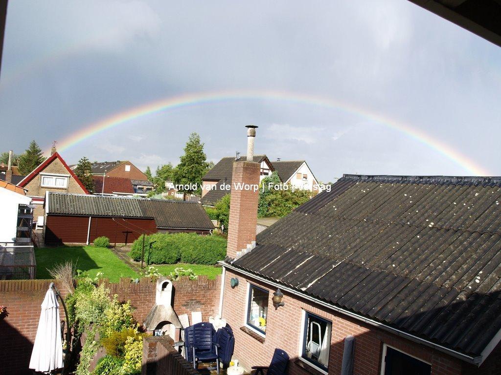 Dubbele regenboog 13-08-2008