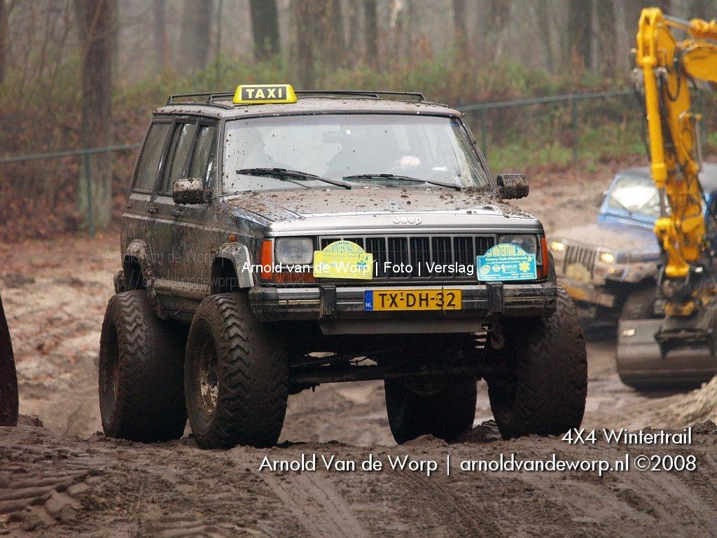 4X4 Wintertrail @ crossbaan Heerde 06-12-2008
