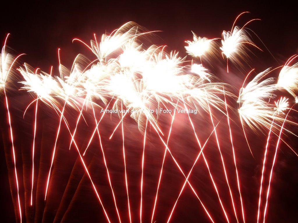 Vuurwerkshow bij Kwekerij Souman 12-12-2008